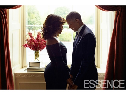 Michelle and Barack Obama in Essence Magazine, October 2016 9/9/16 Kwaku Alston
