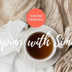 "Introducing ""Sipping with Simone"" — my new YouTube/Facebook/web vlog series"